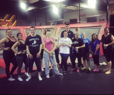 Fitness Class at infinity Trampoline Park