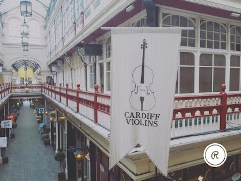 Cardiff Violins says traditional instruments are still in demand due to sound quality
