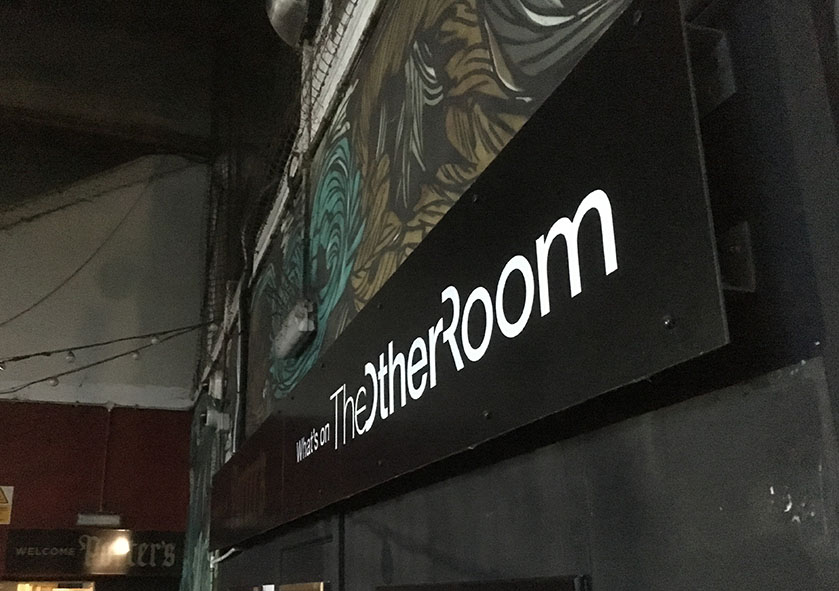 The Other Room entrance