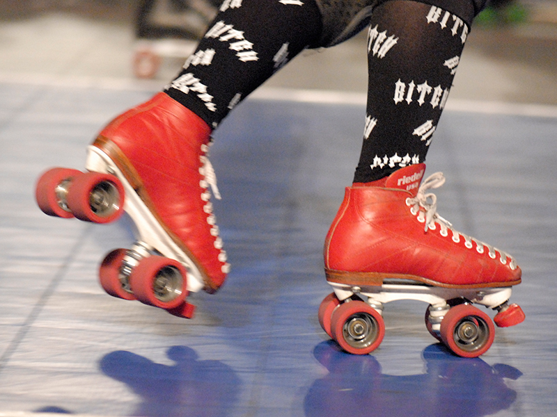Roller skating (Photo: David Franzen)