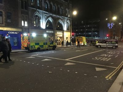 nightlife, ambulance