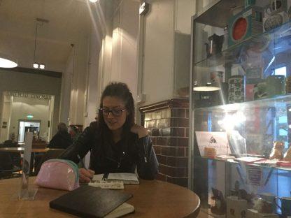 Away from her animation work, Dani enjoys sketching