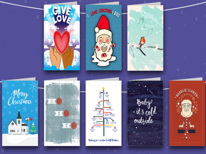 Cardiff Christmas Cards