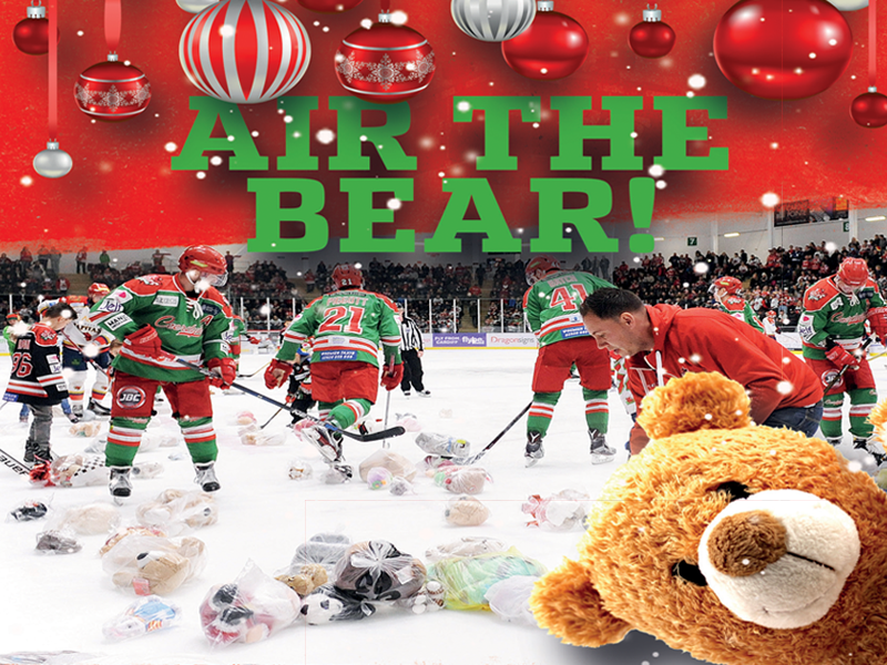 Air The Bear Cardiff Devils
