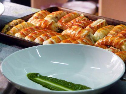 Cegin Burlinton's pop up events specialise in fine dining