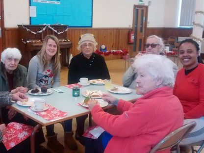 The winter Giving Week has been running for several years, with some events, like a senior citizens Christmas Party being repeated