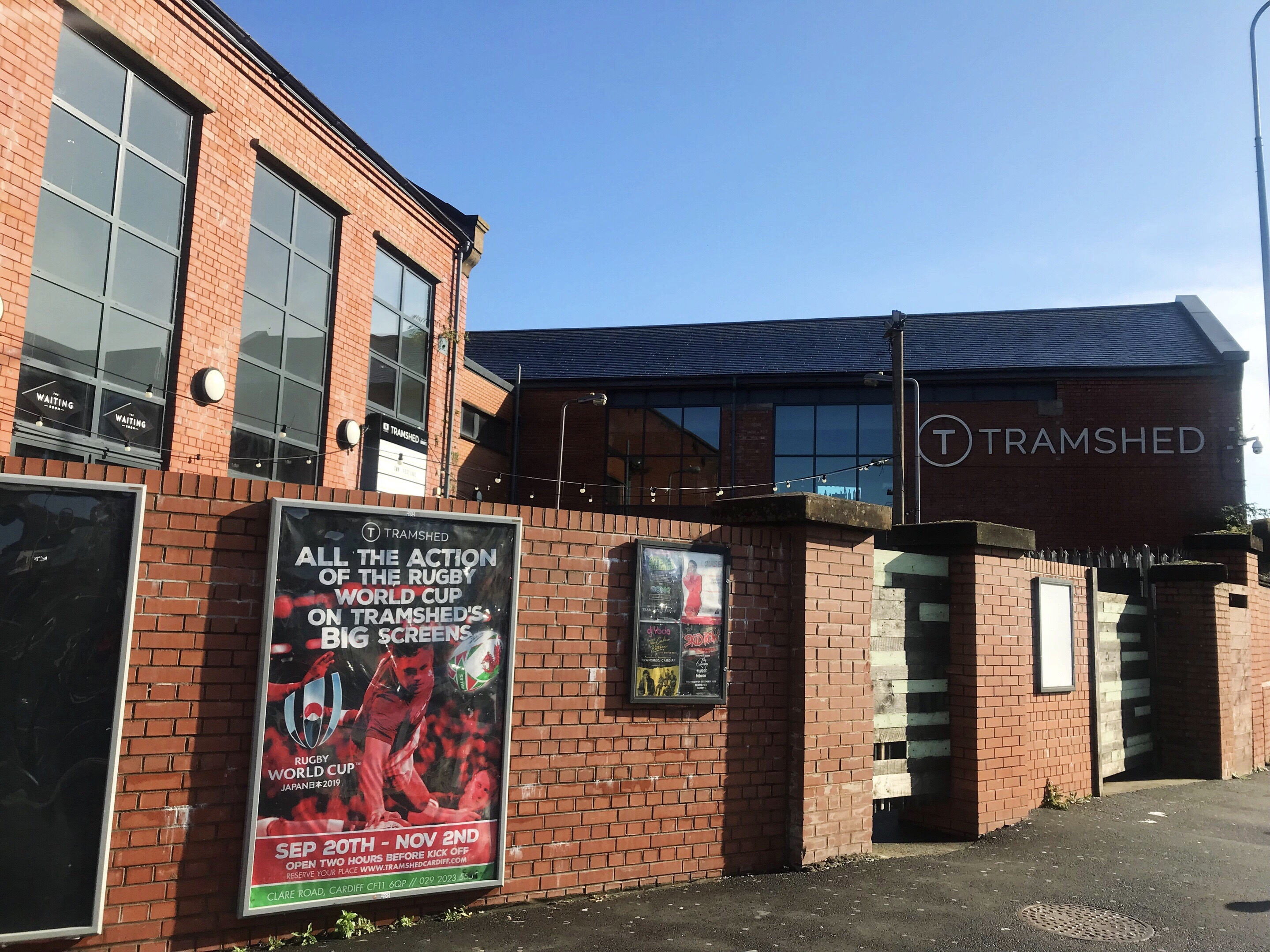 Tramshed, the music venue in Cardiff