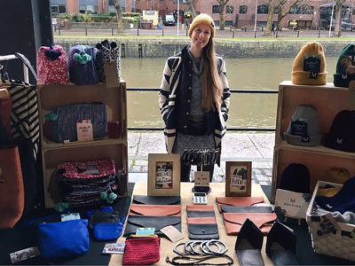 ethical fashion brand holds pop up store, and encourages people to shop sustainable