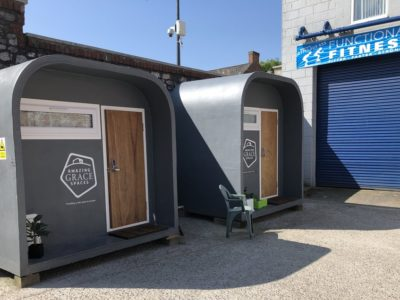 Amazing Grace pods to be developed with World Biggest Sleep Out fundings