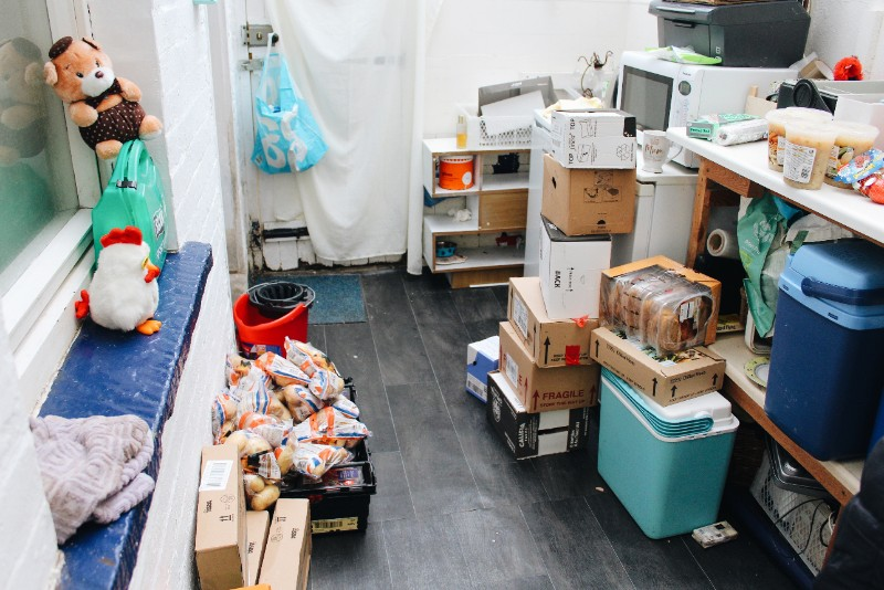 Food Cooperative Store Room