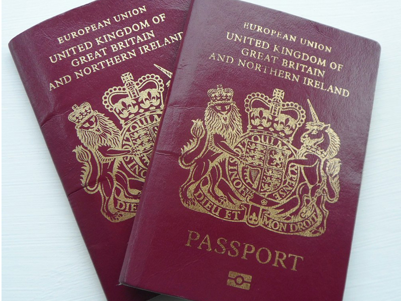 Passports stock image from Flickr homeless