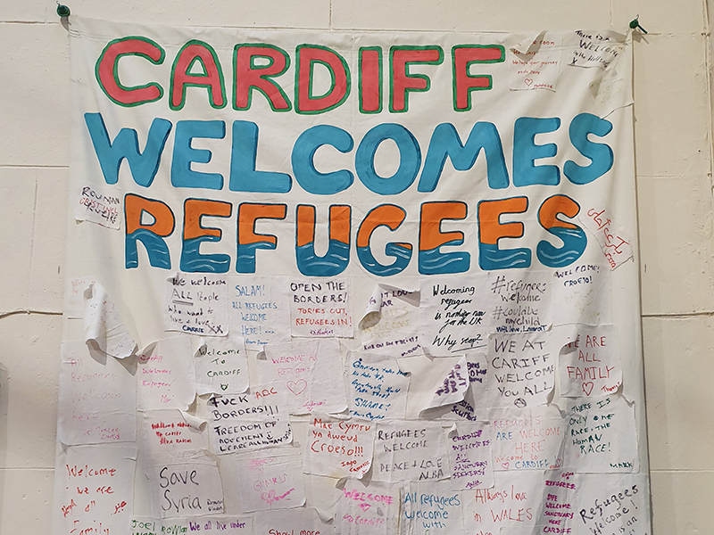 Oasis Cardiff welcomes Cardiff's asylum seekers and refugees