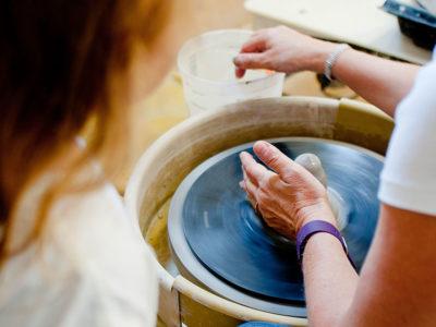 pottery wheel people