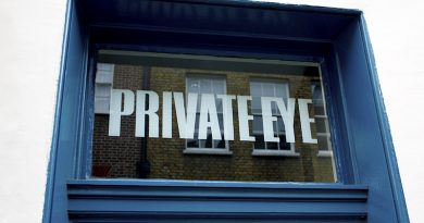 The office of Private Eye magazine