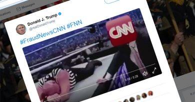 Donald Trump's tweet about CNN