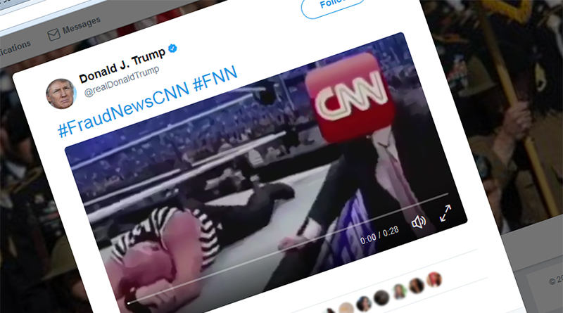 Donald Trump's tweet about CNN