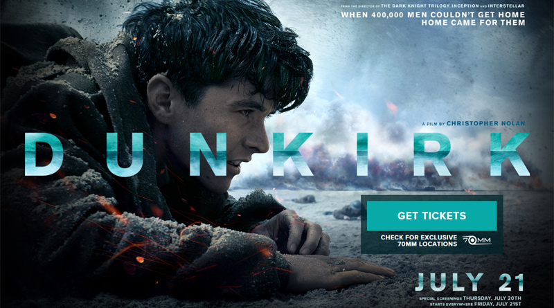 An image from the movie Dunkirk