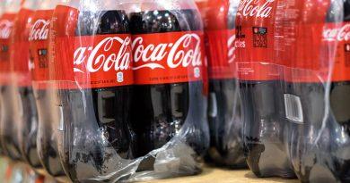Plastic coke bottles