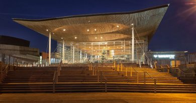 The Senedd Cardiff