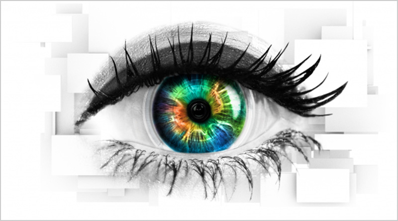 An illustrated eye, the logo of Celebrity Big Brother