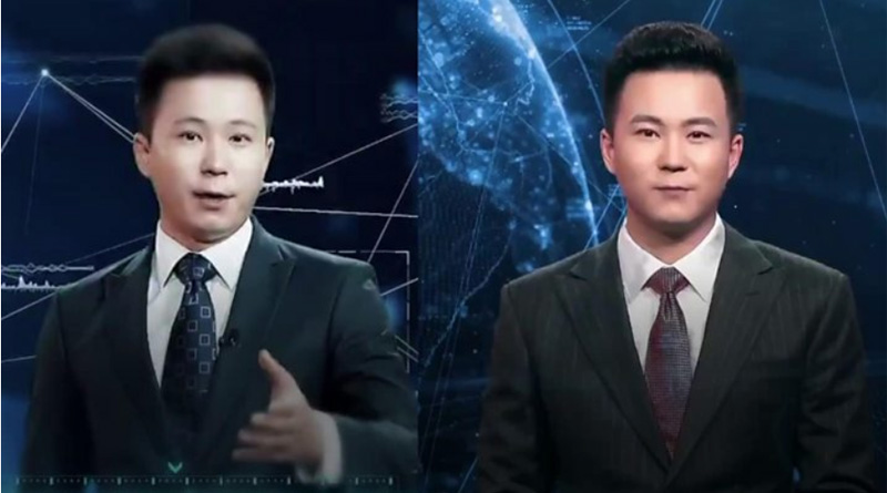 China's new AI news reader