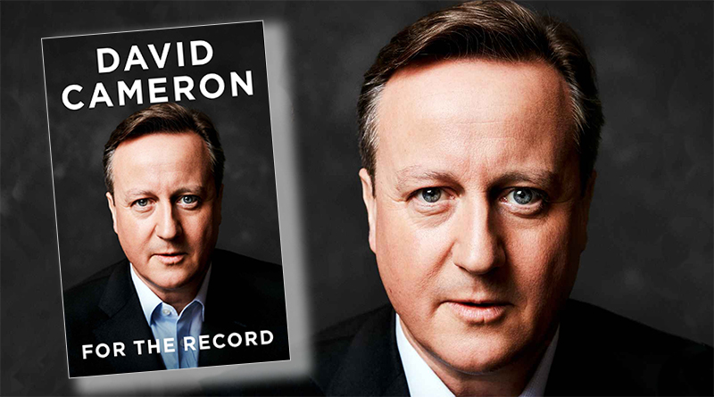 The face of David Cameron