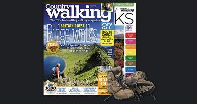 The cover of Country Walking magazine