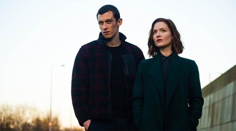 Callum Turner and Holliday Grainger star as a soldier and a detective in The Capture.